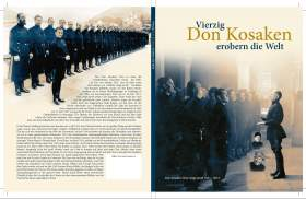 Forty Don Cossacks conquer the worldVierzig Don Kosaken erobern die Welt (bernikov)