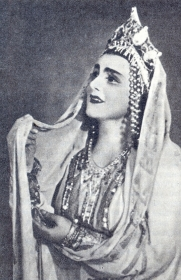 "Nadezhda Semenovna Chubenko - Gorislava, opera ""Ruslan and Lyudmila"", music. M.I. Glinka. The photo. (Надежда Семеновна Чубенко - Горислава, опера ""Руслан и Людмила"", муз. М.И. Глинки. Фотография.) (Belyaev)"