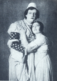 "N.K. Pechkovsky and R.G. Gorskaya. ""Romeo and Juliet"". The photo. (Н.К. Печковский и Р.Г. Горская. ""Ромео и Джульетта"". Фотография.) (Belyaev)"