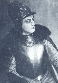 "N.K. Pechkovsky as the Pretender. ""Boris Godunov"". The photo. (Н.К. Печковский в роли Самозванца. ""Борис Годунов"". Фотография.) (Belyaev)"