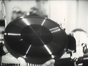 Dubbing to disc from magnetic tape (Plastmass)