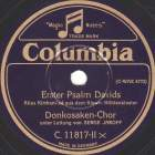 Erster Psalm Davids, church canticle (max)